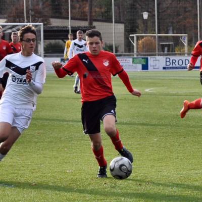 U15: Knappe Niederlage gegen Schott Mainz